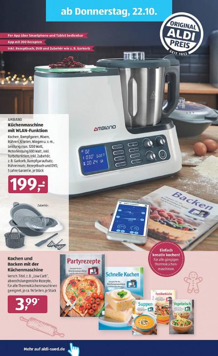 Garkorb Aldi Küchenmaschine 2021